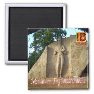 LK - Sri Lanka - Polonnaruwa - rey Parakramabahu Imán Cuadrado