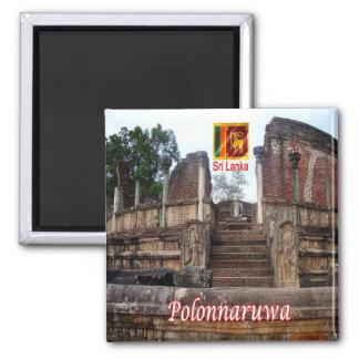 LK - Sri Lanka - Polonnaruwa - templo Imán Cuadrado