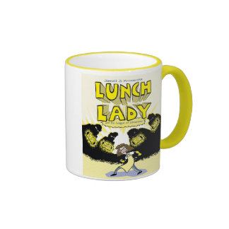 LL and the League of Librarians Ringer Coffee Mug