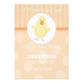 L'l Chick Baby Shower Invitation