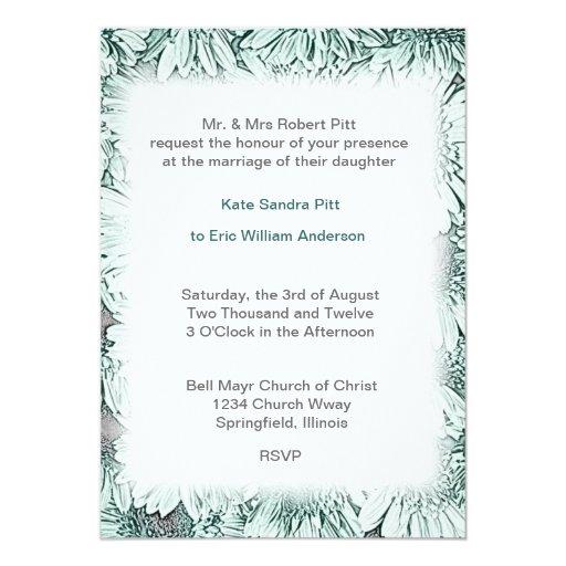 Ll formal de la invitación del boda del capítulo invitación 12,7 x 17,8 cm