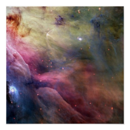 LL Ori and the Orion Nebula Print