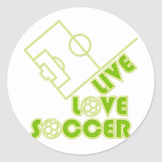 LL_SOCCER CLASSIC ROUND STICKER