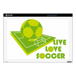 """LL_SOCCER DECALS FOR 17"""" LAPTOPS"""