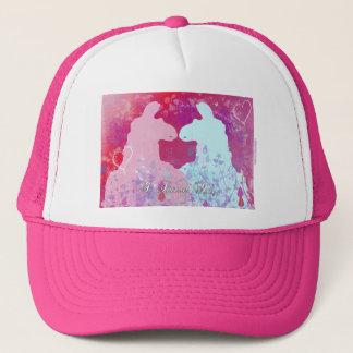 Llama: A Llama Valentine - I Love You Trucker Hat