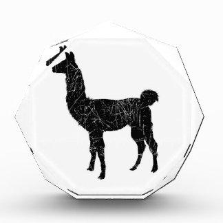 Llama Acrylic Award