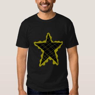 Llama amarilla de la estrella polera