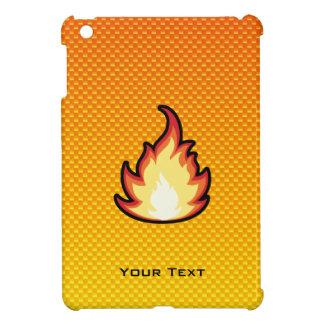 Llama amarillo-naranja del fuego iPad mini protector