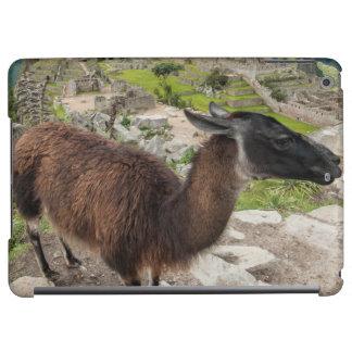 Llama At Machu Picchu, Aguas Calientes, Peru iPad Air Cases