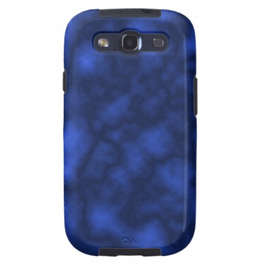Llama azul carcasa para galaxy SIII