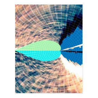 Llama azul del diamante - imaginaciones asombrosas postales