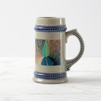 Llama azul del diamante - imaginaciones asombrosas tazas