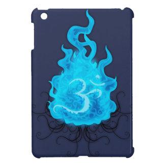 Llama azul del fuego abstracto