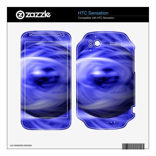 Llama azul HTC sensation skin