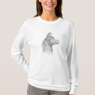 Llama Blue T-Shirt