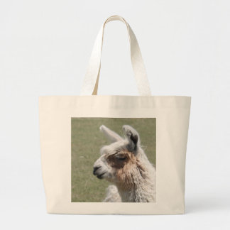 Llama Blush Large Tote Bag
