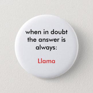 Llama! Button