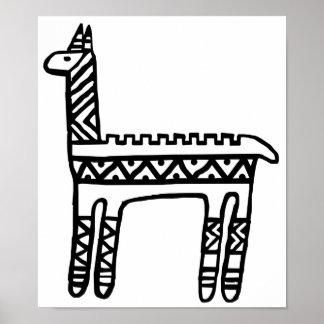 Llama-BW Poster