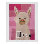 Llama by Jill Connor Poster