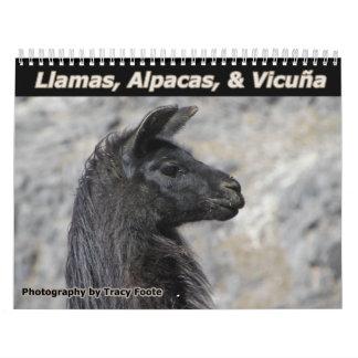 Llama Calendar 2016 - Bolivia Llamas