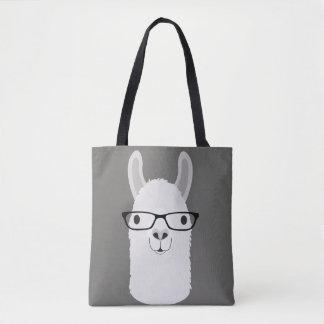 Llama Canvas Tote Bag