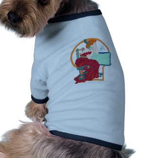 Llama céltica ropa de mascota