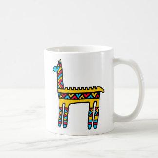 Llama-colores Taza De Café