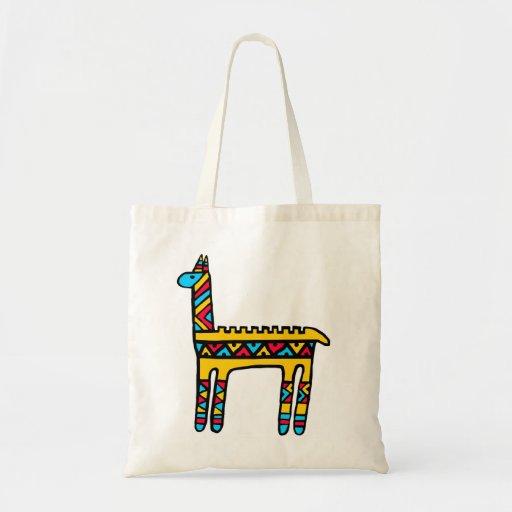 Llama-colors Budget Tote Bag