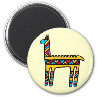 Llama-colors Refrigerator Magnet