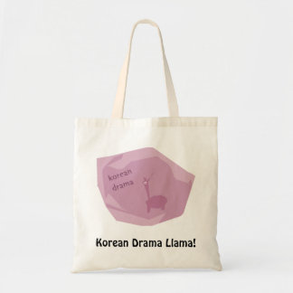 ¡Llama coreana del drama! Bolsas Lienzo