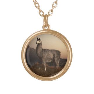 Llama Dawn Custom Necklace