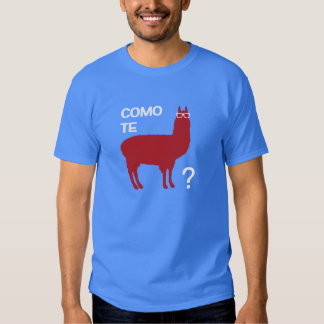 Llama de Como Te Camisas