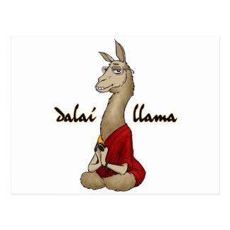 Llama de Dalai Tarjeta Postal
