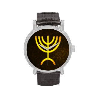 Llama de Menorah Relojes De Pulsera