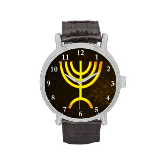 Llama de Menorah Relojes De Mano