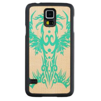 Llama de Phoenix ciánica Funda De Galaxy S5 Slim Arce