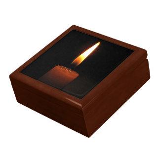 Llama de vela cajas de joyas