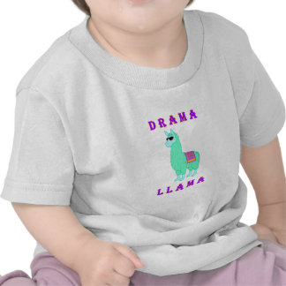 Llama del drama - compañía 7056 camisetas