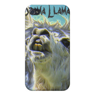 ¡Llama del drama llama del drama iPhone 4 Cárcasa