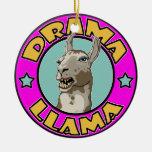 Llama del drama, ornamentos de reyes