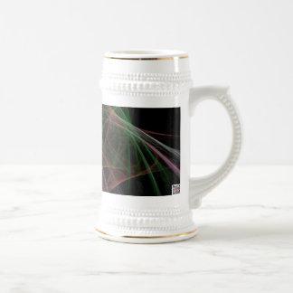 Llama del espacio taza