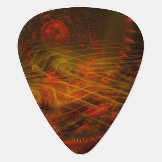 Llama del fractal del colector del alma púa de guitarra
