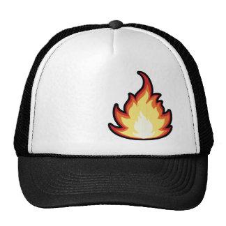 Llama del fuego Rugoso Gorra