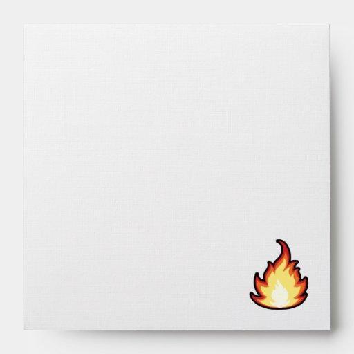 Llama del fuego; Rugoso Sobres