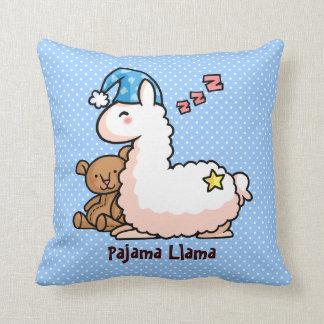 Llama del pijama cojin