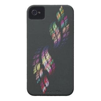 Llama doble del arco iris iPhone 4 Case-Mate carcasa