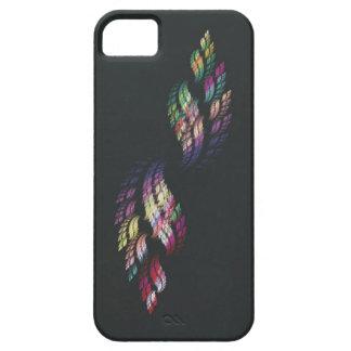 Llama doble del arco iris iPhone 5 fundas