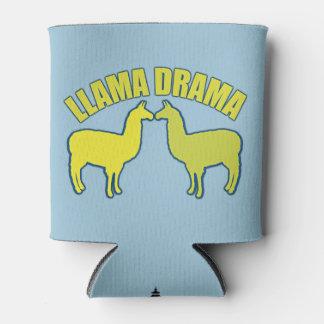 Llama Drama Can Cooler