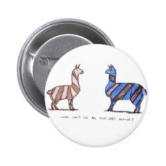 llama dress button