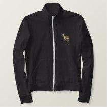 Llama Embroidered Jacket